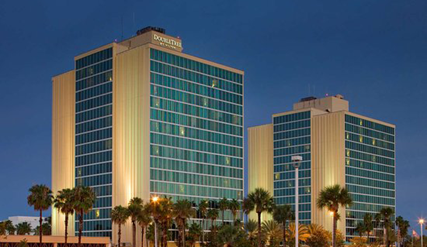 Double Tree by Hilton at the Entrance to Universal