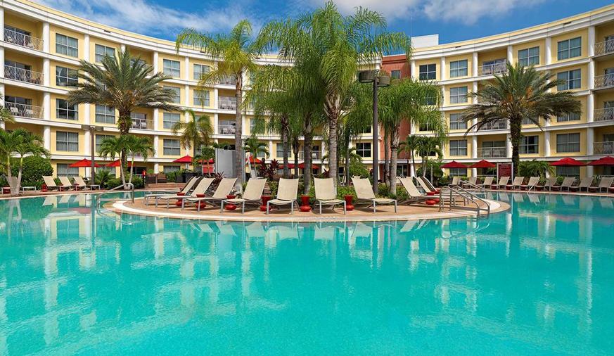 Melia Orlando Suite hotel Celebration