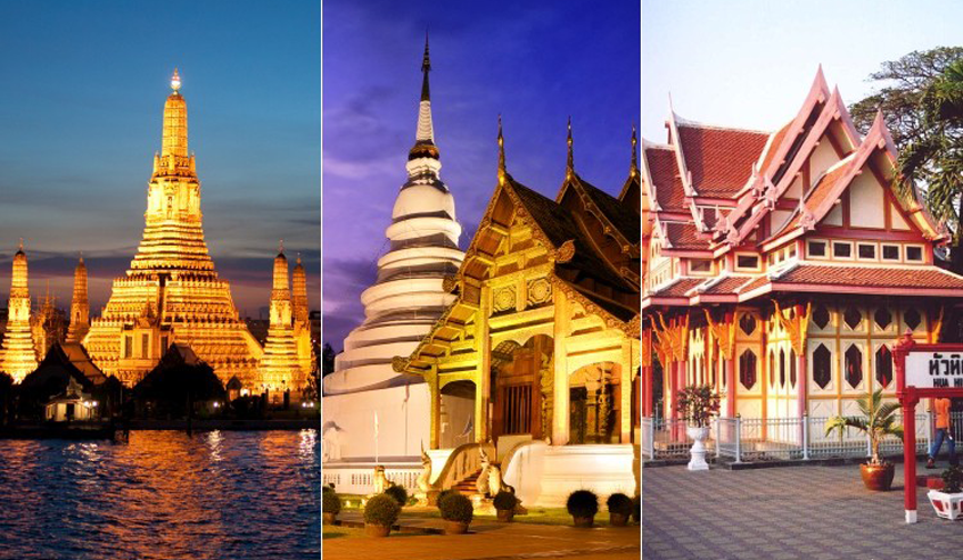 Bangkok, Chiang Mai & Hua Hin Multicentre Holiday