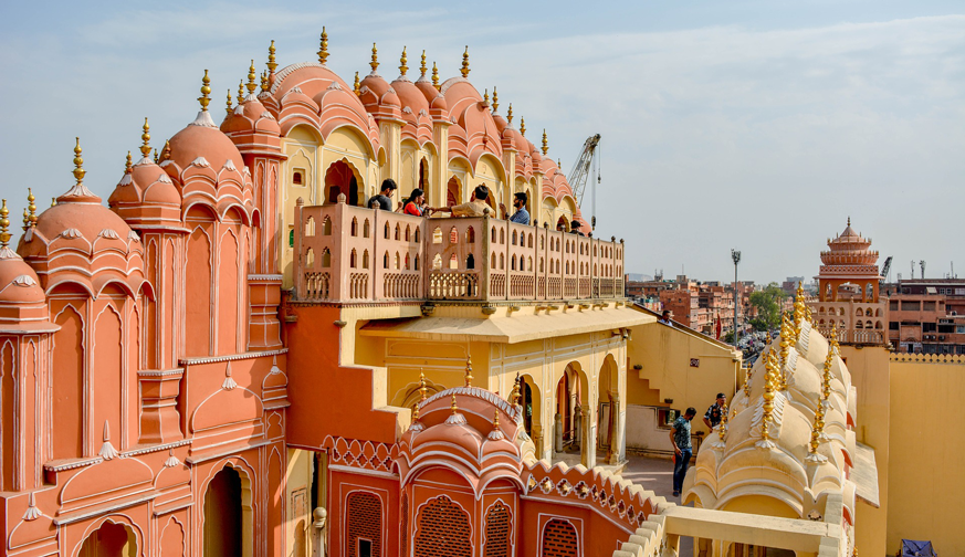 Golden Triangle with Beaches of Goa