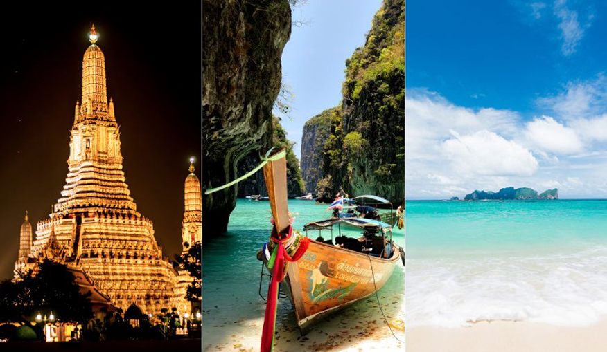 Bangkok, Phuket & Phi Phi Multicentre Holiday