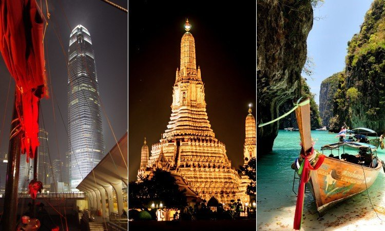 Hong Kong, Bangkok & Phuket Multicentre Holiday