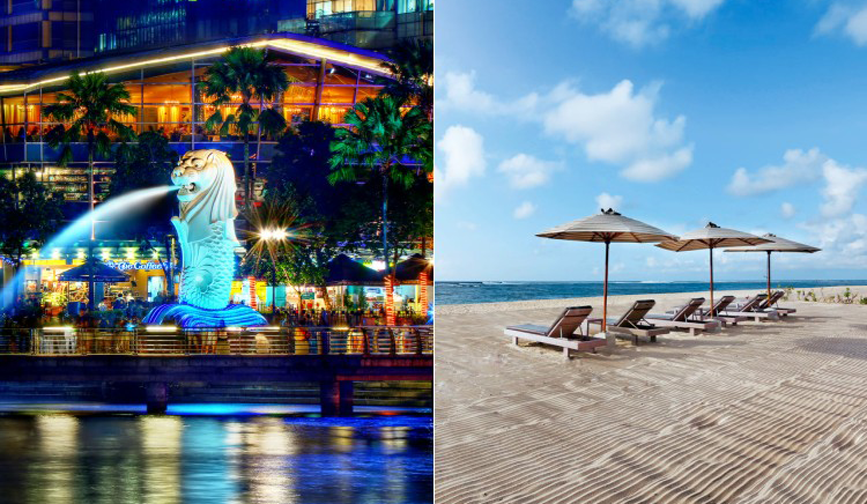 Singapore & Bali Multicentre Holiday
