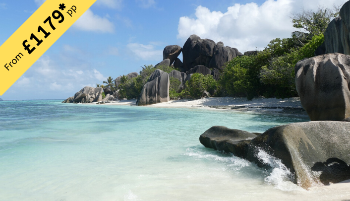 7 Nights Stay in Seychelles from £1179 per person ( 2twin share )