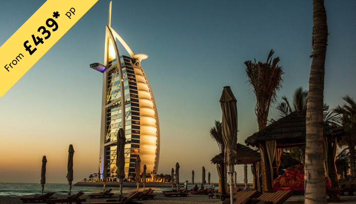 6 Nights Stay in Dubai from £439 per person ( 2twin share )