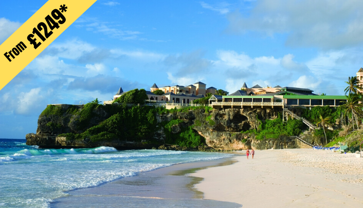 7 NIGHTS STAY IN Barbados from £1249 per person (Twin Share)
