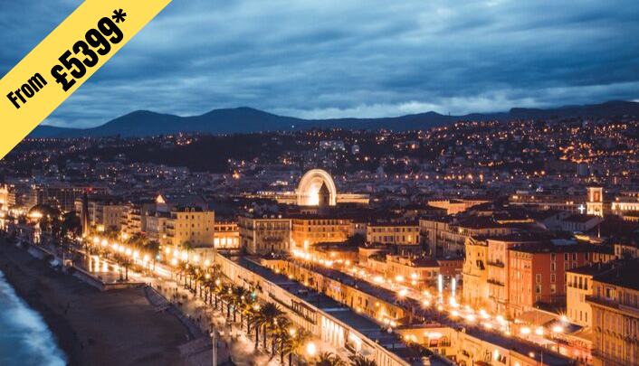 5 NIGHTS STAY IN NICE from £5399 per person ( 2 twin share )