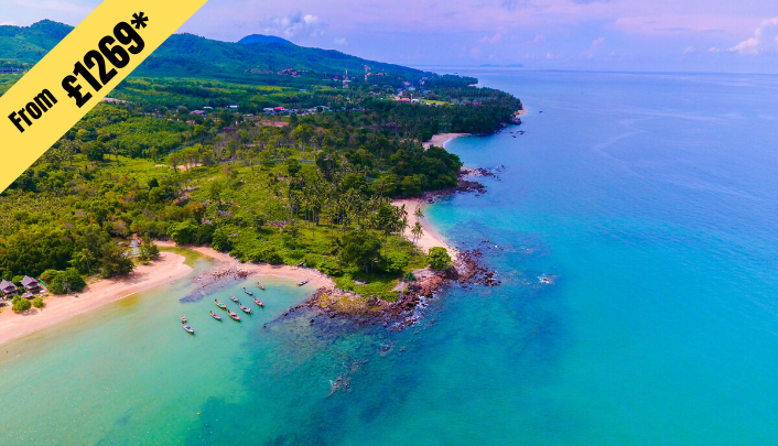 8 NIGHTS STAY IN Koh Samui from £1269 per person (Twin Share)