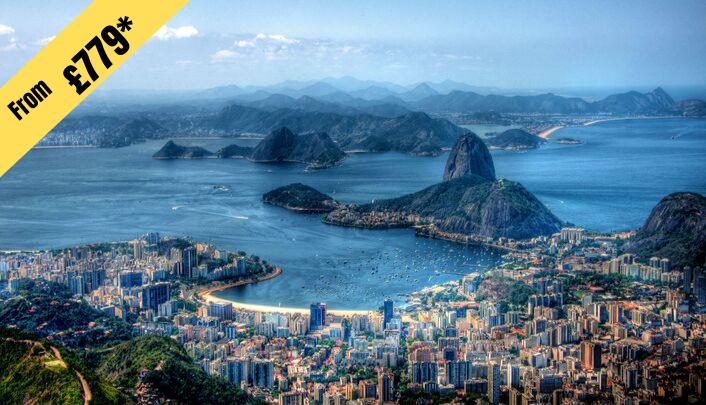 7 NIGHTS STAY IN RIO DE JANIERO from £779 per person ( 2 twin share )