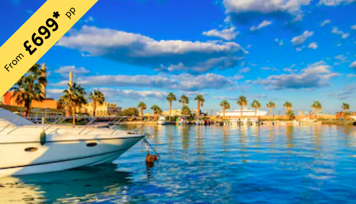 7 Nights Stay in Hurghada £699 per person ( 2twin share )
